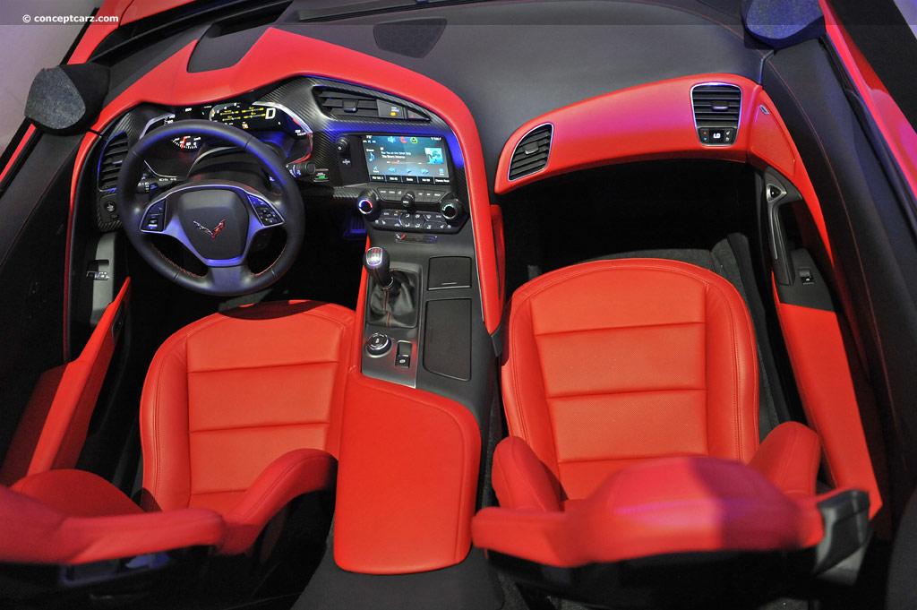personally its been a long time since any recent vette design has lit my fire the c4s seemed uninspired even back then - Corvette 2013 Stingray Interior